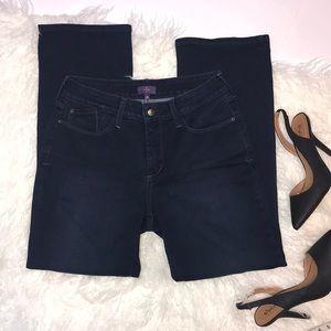NYDJ Petite Bootcut Dark Wash Jean Size 8P